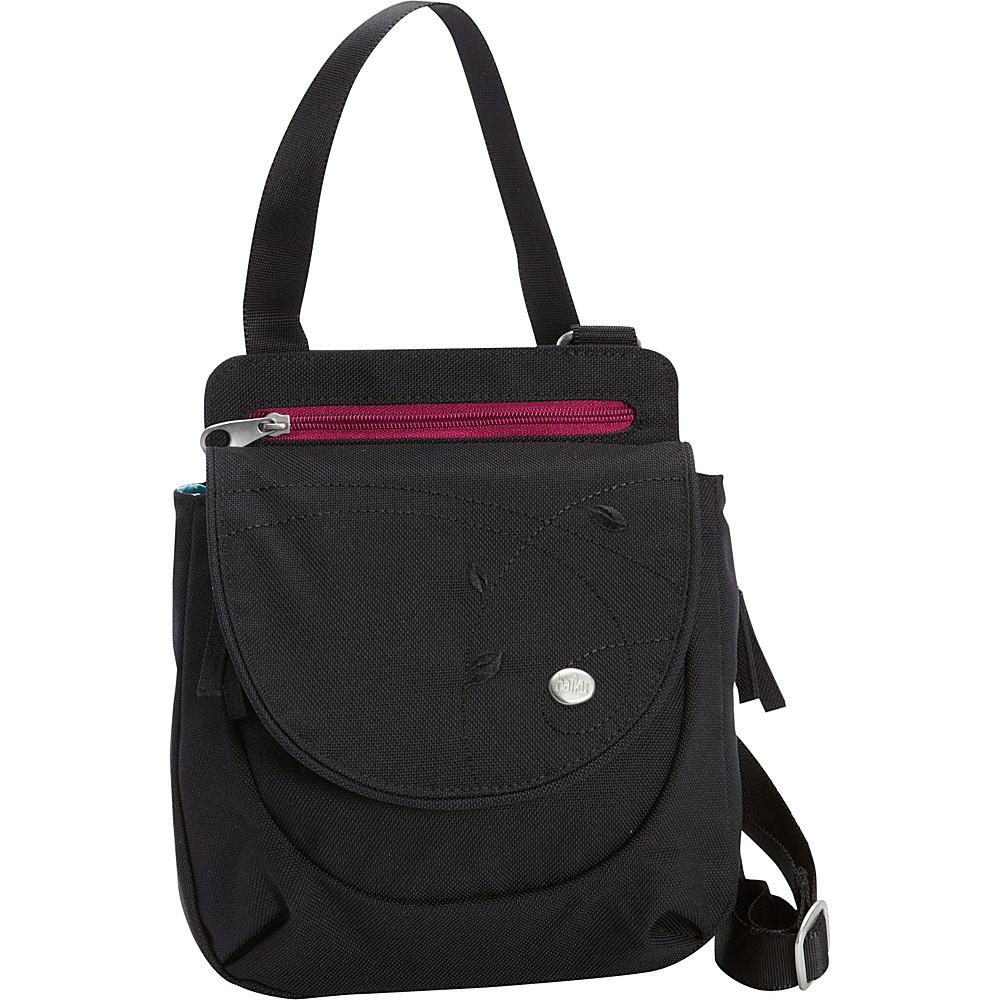 Haiku Swift Grab Bag Crossbody Black - Haiku Fabric Handbags