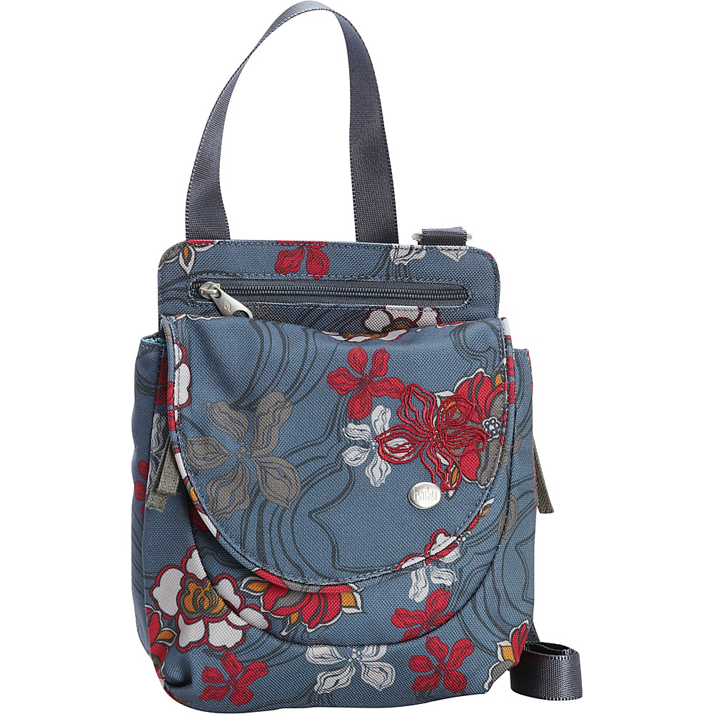 Haiku Swift Grab Bag Crossbody River Floral Print Haiku Fabric Handbags