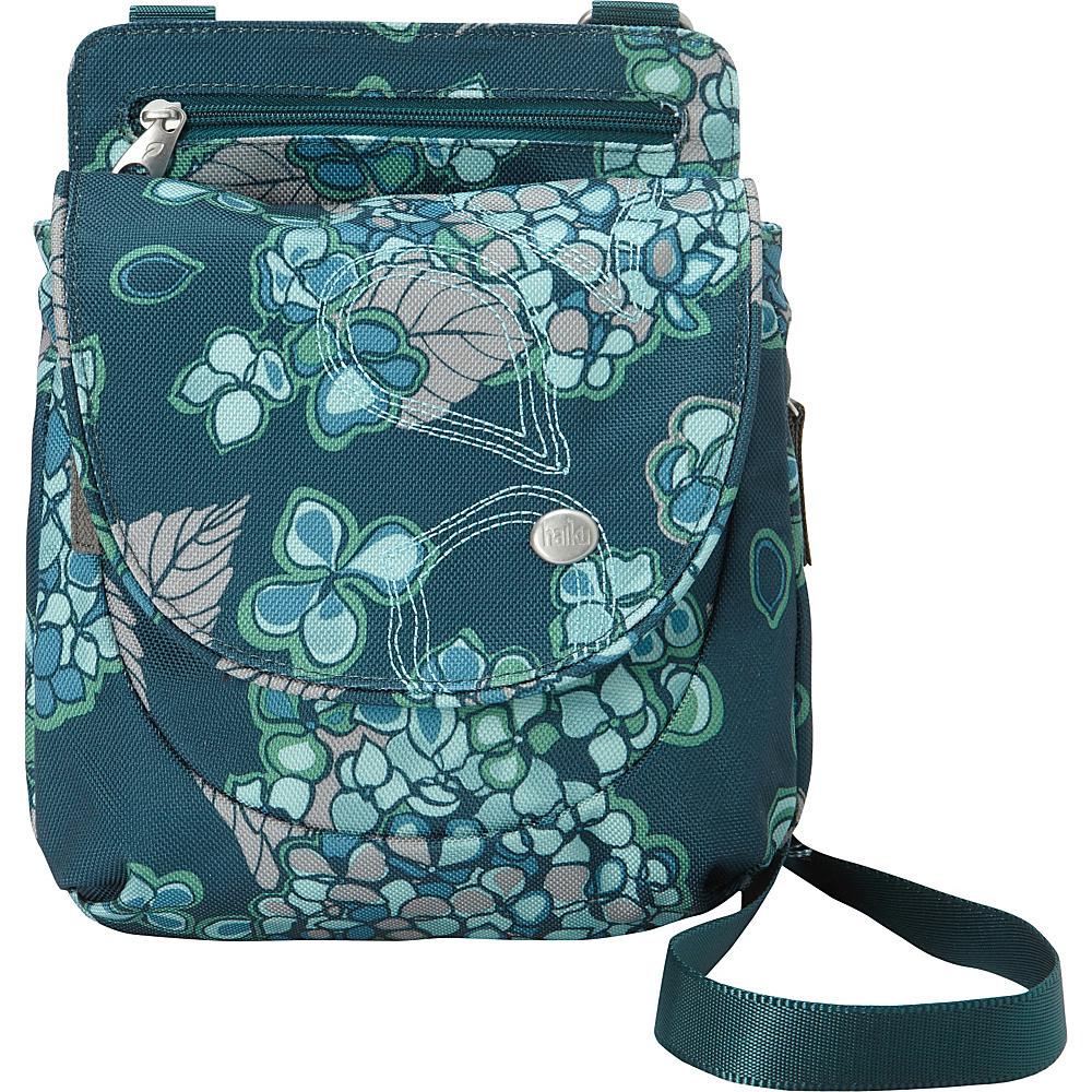 Haiku Swift Grab Bag Crossbody Hydrangea Print - Haiku Fabric Handbags