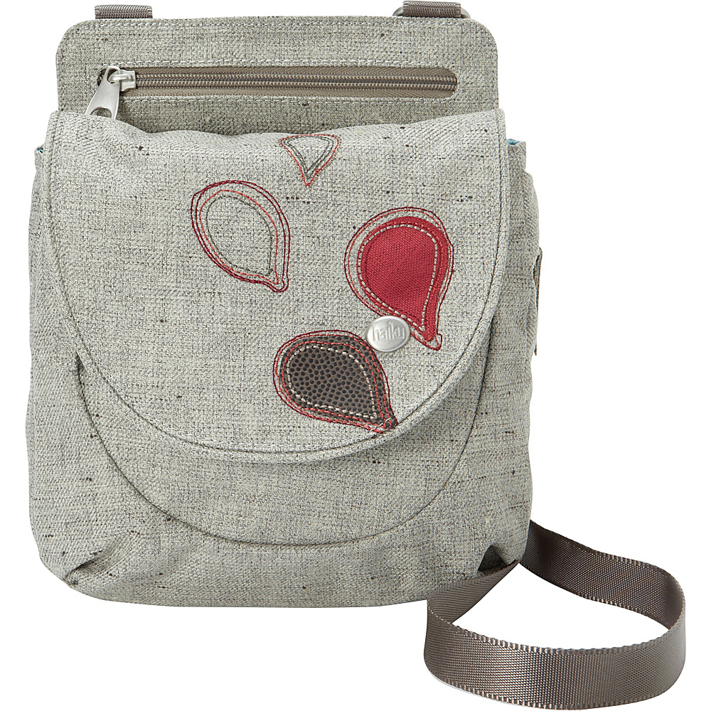 Haiku Swift Grab Bag Crossbody Mushroom Haiku Fabric Handbags