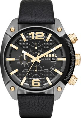 Diesel Watches Diesel Watches Overflow Watch Black - Diesel Watches Watches