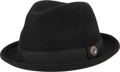 Ben Sherman Wool Felt Trilby Hat L/XL - Black - Ben Sherman Hats/Gloves/Scarves