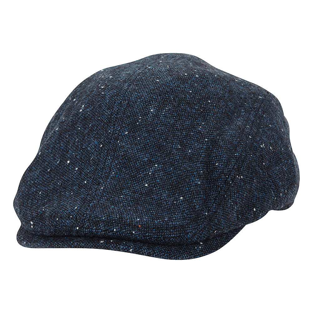 Ben Sherman Nep Tweed Driver Hat Navy Blazer Large Extra Large Ben Sherman Hats Gloves Scarves