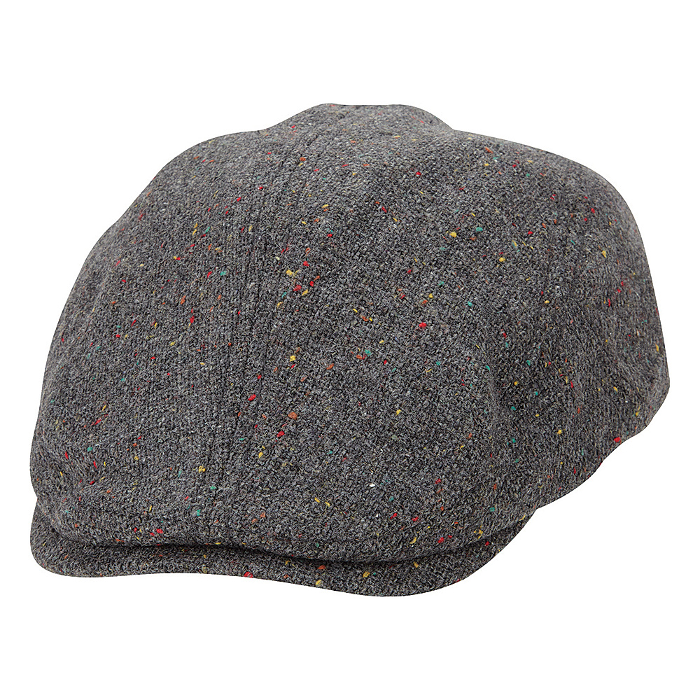 Ben Sherman Nep Tweed Driver Hat Smoked Pearl Large Extra Large Ben Sherman Hats Gloves Scarves