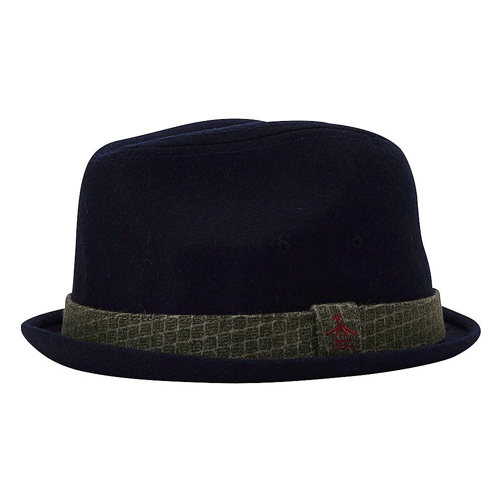 Original Penguin Governor Porkpie Hat S/M - Navy - Original Penguin Hats/Gloves/Scarves