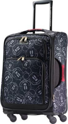 American Tourister Disney Mickey Mouse Softside Spinner 21 inch Mickey Mouse Multi-Face - American Tourister Softside Carry-On