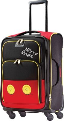 American Tourister Disney Mickey Mouse Softside Spinner 21 inch Mickey Mouse Pants - American Tourister Softside Carry-On