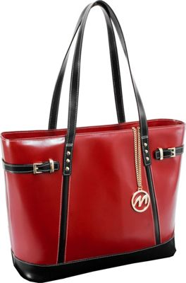 McKlein USA McKlein USA Serafina Tote Red - McKlein USA Women's Business Bags