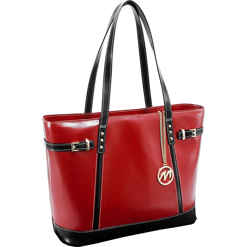 McKlein USA Serafina Tote Red McKlein USA Women s Business Bags