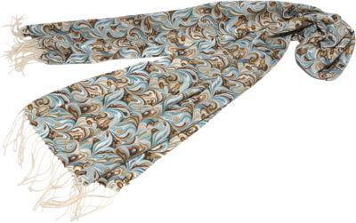 Gottex Swirl Scarf Aqua - Gottex Hats/Gloves/Scarves