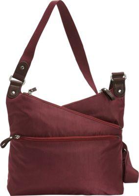 Osgoode Marley Kriss Kross Traveler Cranberry - Osgoode Marley Fabric Handbags