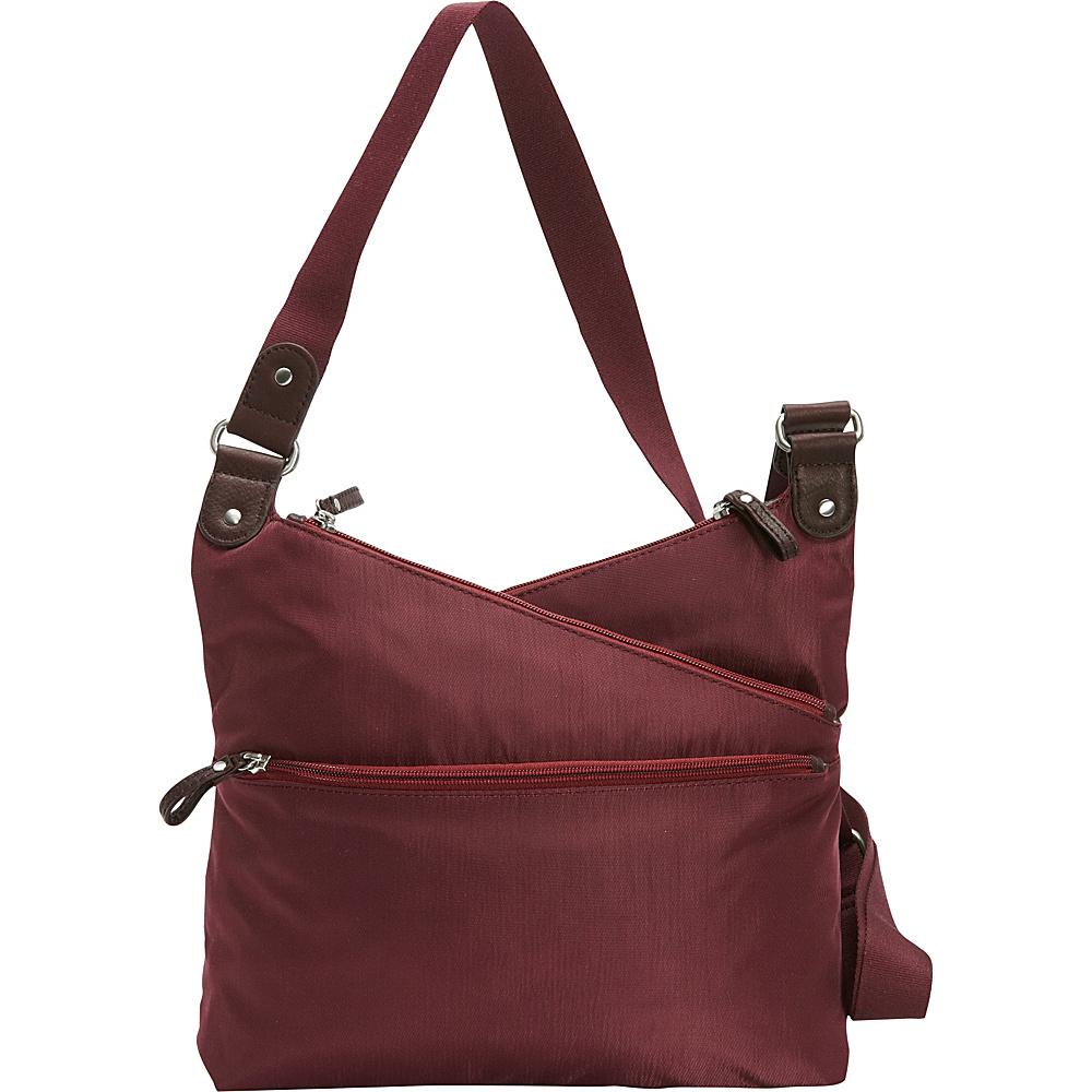 Osgoode Marley Kriss Kross Traveler Cranberry Osgoode Marley Fabric Handbags