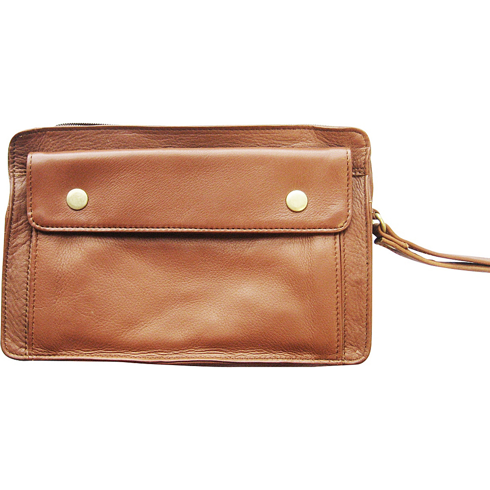 Tanners Avenue Leather Travel Bag Tan Tanners Avenue Travel Wallets