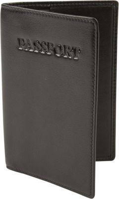 Tanners Avenue Luxe Passport Cover Black - Tanners Avenue Travel Wallets