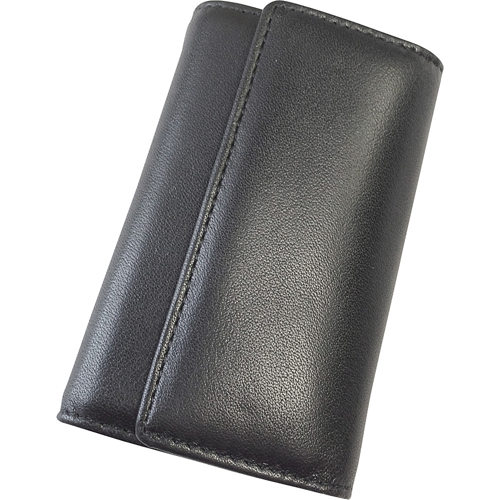 Tanners Avenue Leather Key Case Wallet 6 keys Black Tanners Avenue Men s Wallets
