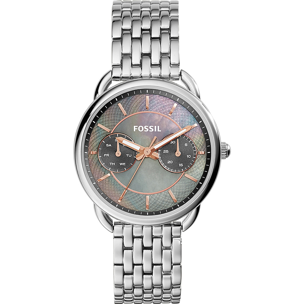 Fossil Tailor Multifunction Stainless Steel Watch Silver - Fossil Watches - Fashion Accessories, Watches