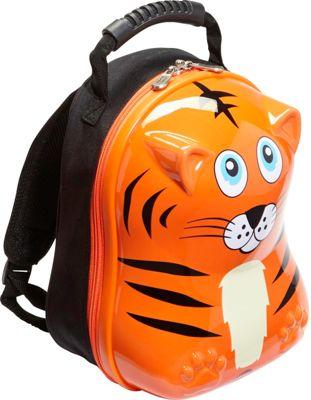 TrendyKid Travel Buddies Tiger 13 inch Backpack Tiger Orange - TrendyKid Everyday Backpacks