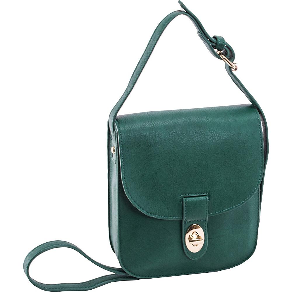 Parinda Maya II Crossbody Green - Parinda Manmade Handbags