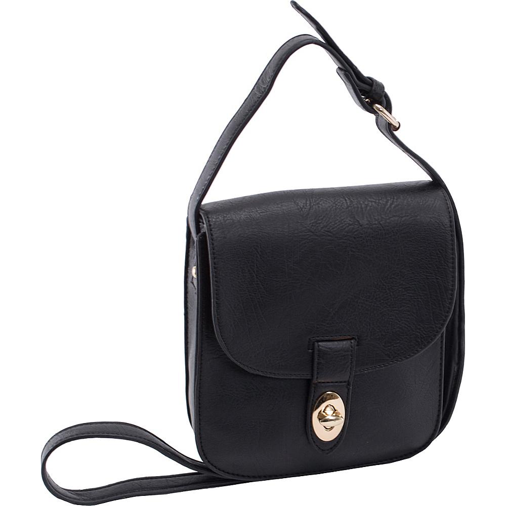 Parinda Maya II Crossbody Black - Parinda Manmade Handbags