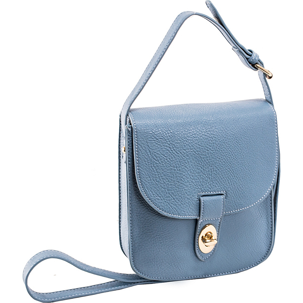 Parinda Maya II Crossbody Aqua Blue - Parinda Manmade Handbags