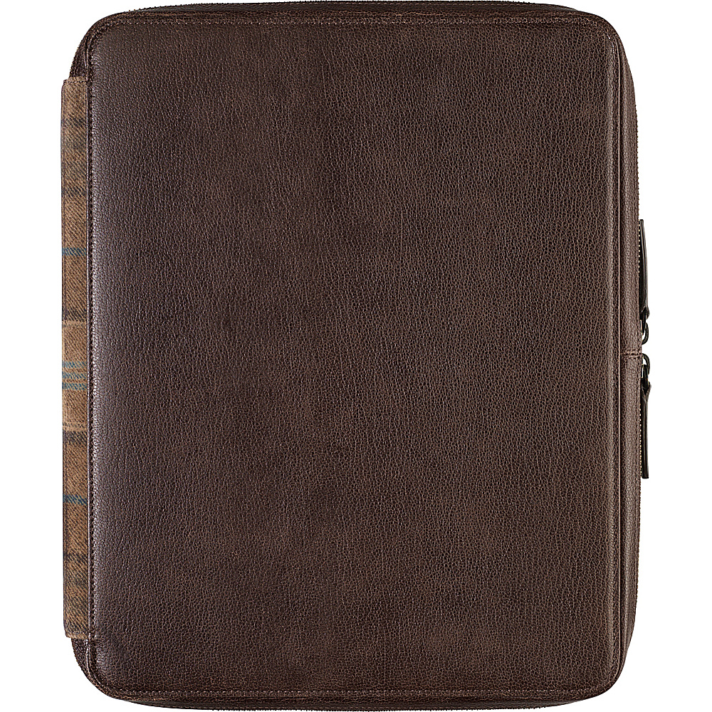 Johnston Murphy Zip Folio With iPad Sleeve Brown Johnston Murphy Electronic Cases