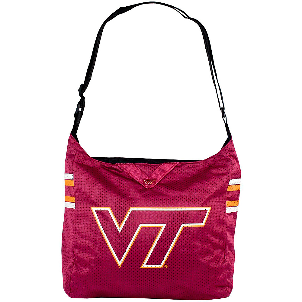 Littlearth Team Jersey Shoulder Bag - ACC Teams Virginia Tech - Littlearth Fabric Handbags - Handbags, Fabric Handbags