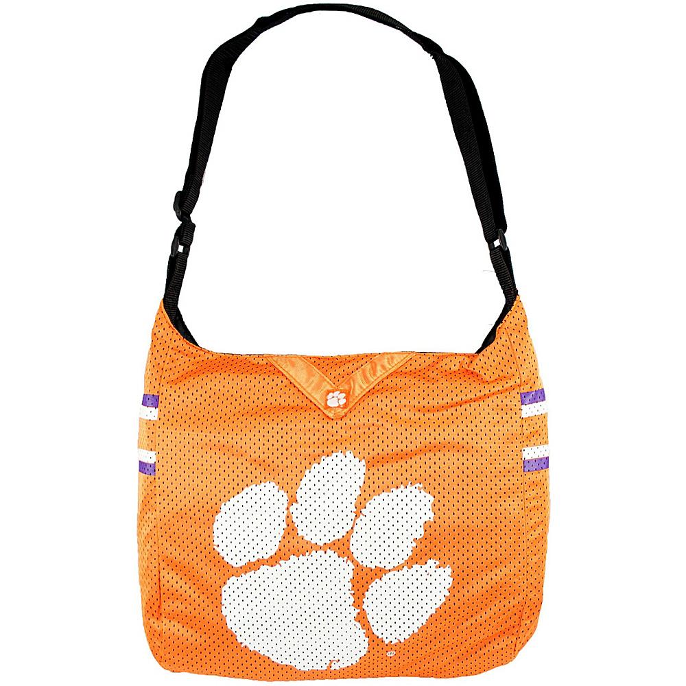 Littlearth Team Jersey Shoulder Bag - ACC Teams Clemson Univeristy - Littlearth Fabric Handbags - Handbags, Fabric Handbags