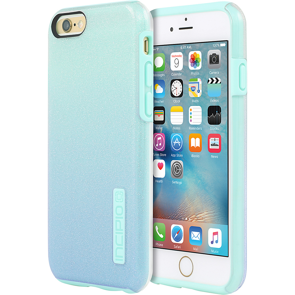 Incipio DualPro Glitter for iPhone 6/6s Plus Mint - Incipio Electronic Cases - Technology, Electronic Cases