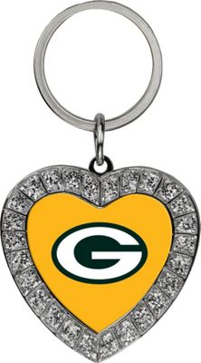 Luggage Spotters NFL Green Bay Packers Rhinestone Key Chain Yellow - Luggage Spotters Women's SLG Other 10388244