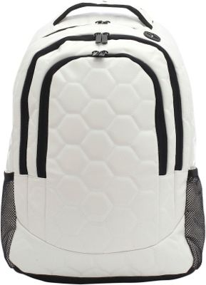 Zumer Soccer Backpack Soccer white - Zumer Everyday Backpacks