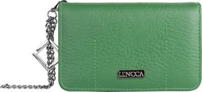 Lencca Kymira Wallet Organizer Clutch Gem/Sage - Lencca Manmade Handbags