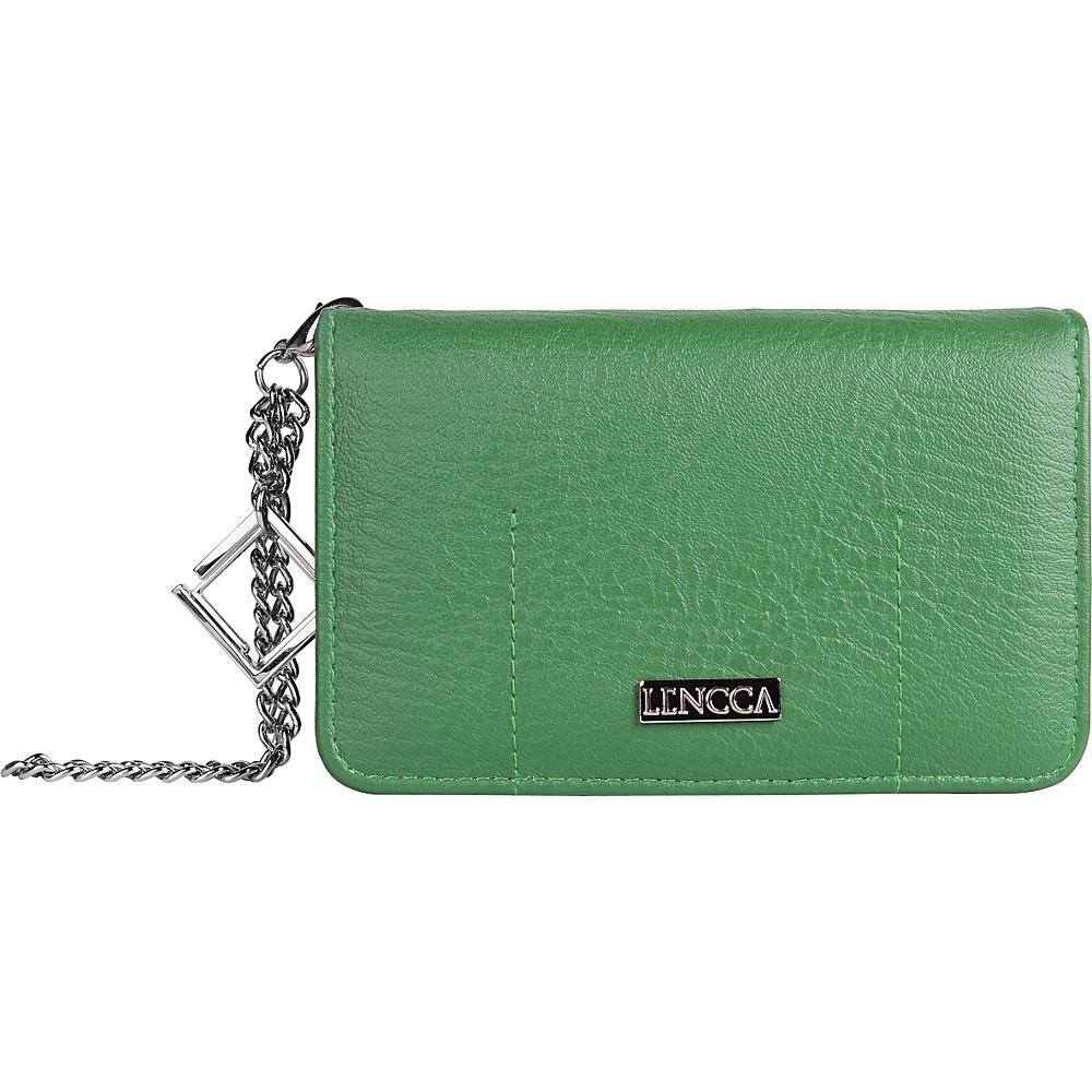 Lencca Kymira Wallet Organizer Clutch Gem Sage Lencca Manmade Handbags