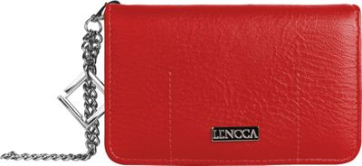 Lencca Kymira Wallet Organizer Clutch Wine/Tan - Lencca Manmade Handbags