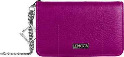 Lencca Kymira Wallet Organizer Clutch Plum/Sky - Lencca Manmade Handbags