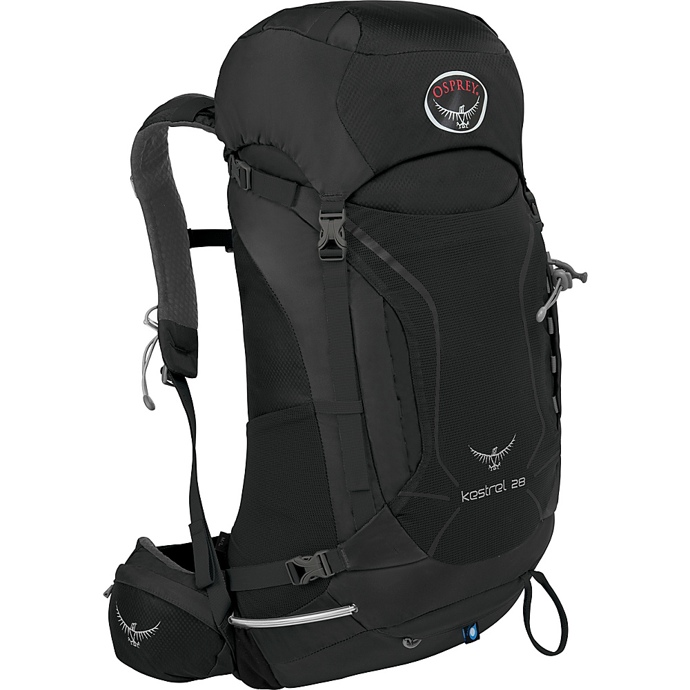 Osprey Kestrel 28 Hiking Backpack Ash Grey - M/L - Osprey Backpacking Packs - Outdoor, Backpacking Packs