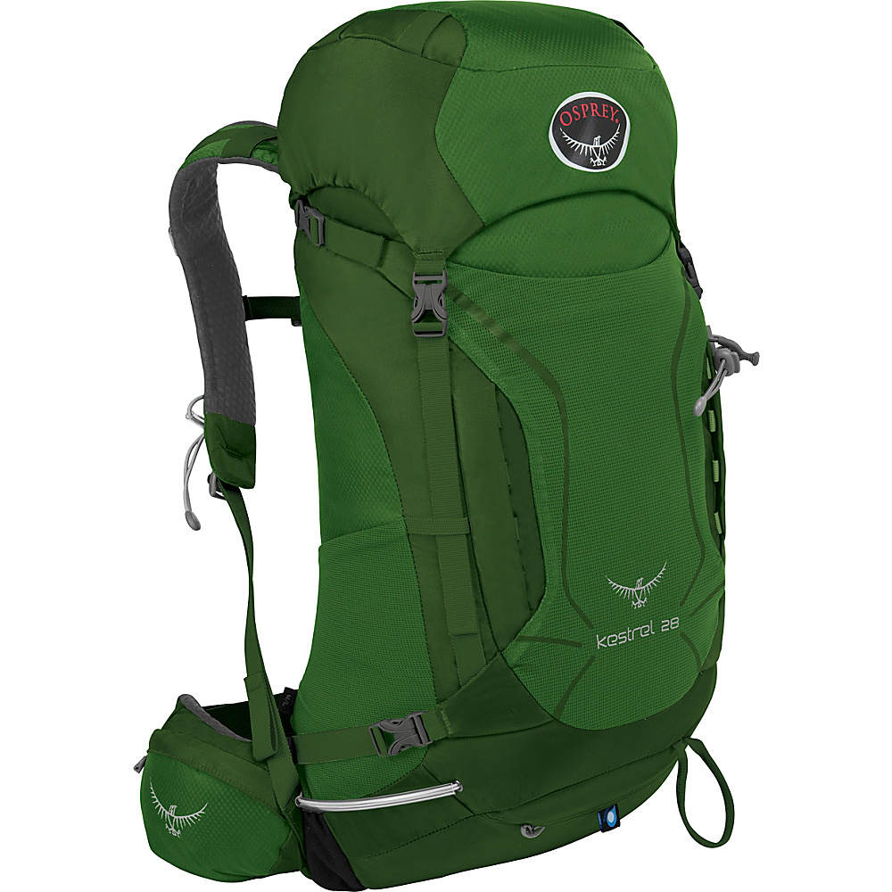 Osprey Kestrel 28 Hiking Backpack Jungle Green - M/L - Osprey Backpacking Packs - Outdoor, Backpacking Packs