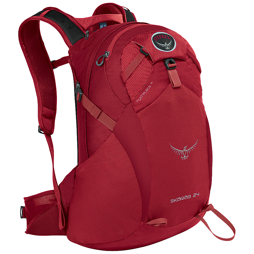 Osprey Skarab 24 Hiking Backpack Inferno Red - S/M - Osprey Day Hiking Backpacks - Outdoor, Day Hiking Backpacks