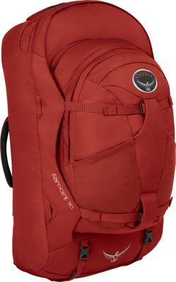 Osprey Farpoint 70 Travel Laptop Backpack Jasper Red - M/L - Osprey Travel Backpacks