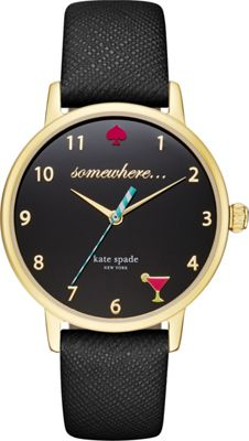 kate spade watches Metro Watch Black - kate spade watches Watches