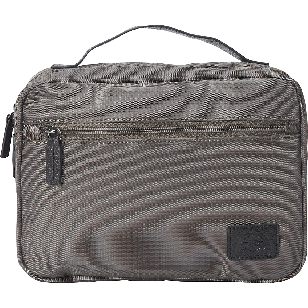 "Dopp Commuter ""Flip-Out"" Hanging Toiletry Kit Graphite - Dopp Toiletry Kits"
