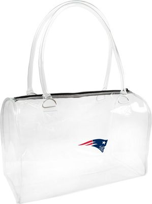 Littlearth Clear Bowler - NFL Teams New England Patriots - Littlearth Manmade Handbags