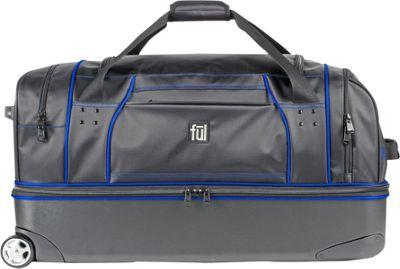 ful Workhorse 30 inch Rolling Duffel Black/Blue