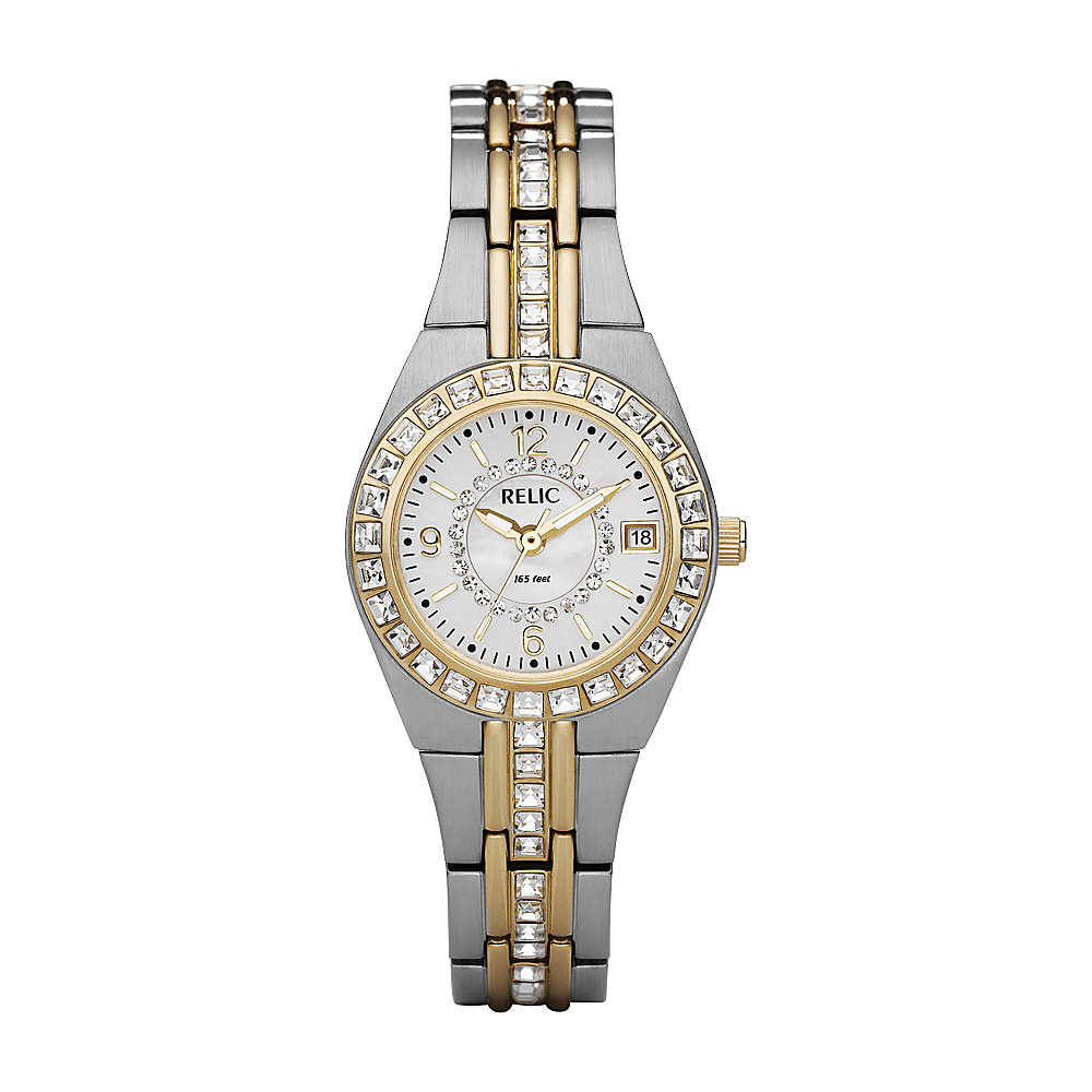 Relic Queen s Court Watch Gold Silver Relic Watches
