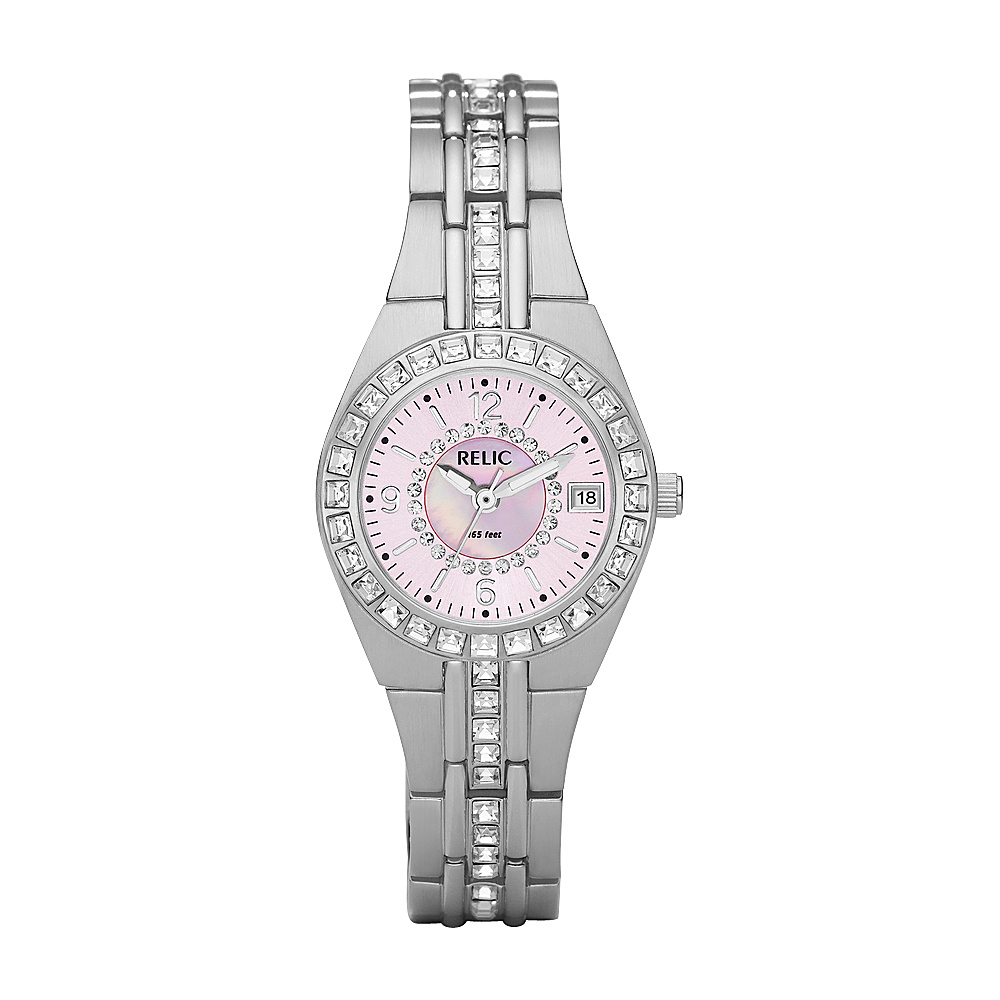 Relic Queen s Court Watch Silver Relic Watches