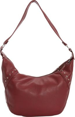 Victoria Leather Harley Hobo Marsala - Victoria Leather Leather Handbags