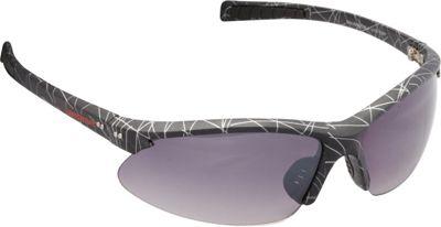 Unionbay Eyewear Oval Wrap Sunglasses Black Print - Unionbay Eyewear Sunglasses