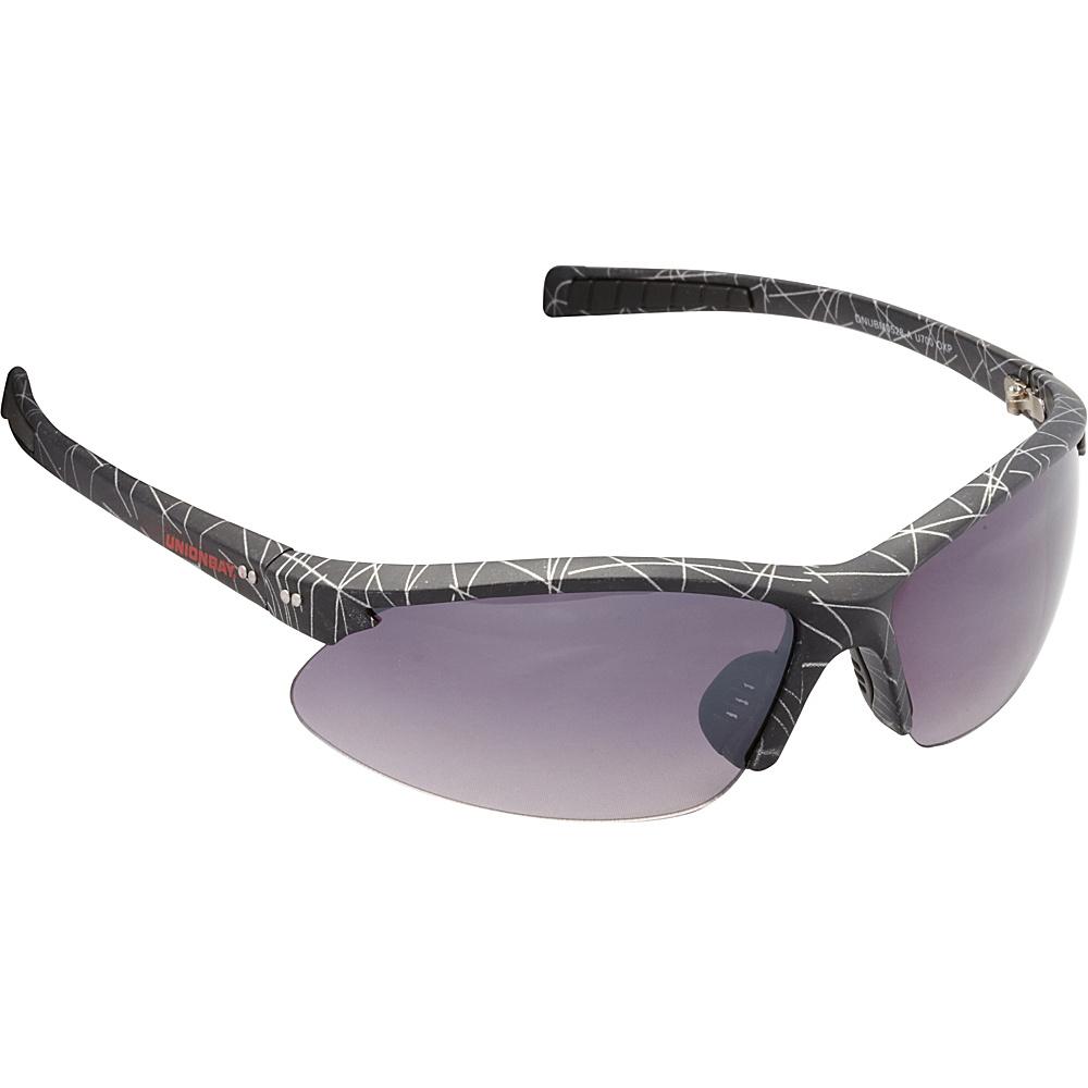 Unionbay Eyewear Oval Wrap Sunglasses Black Print Unionbay Eyewear Sunglasses