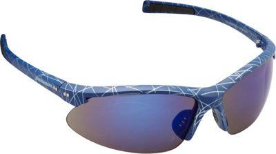 Unionbay Eyewear Oval Wrap Sunglasses Blue Print - Unionbay Eyewear Sunglasses