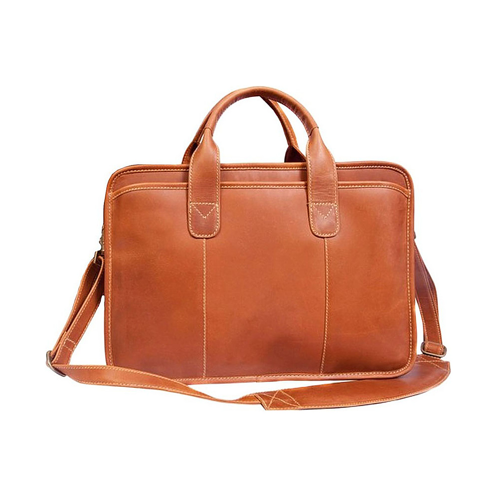 Canyon Outback Leather Buffalo Valley 15 Leather Briefcase Distressed Tan Canyon Outback Non Wheeled Business Cases
