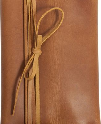 Canyon Outback Redwood Leather Journal Distressed Tan - Canyon Outback Business Accessories